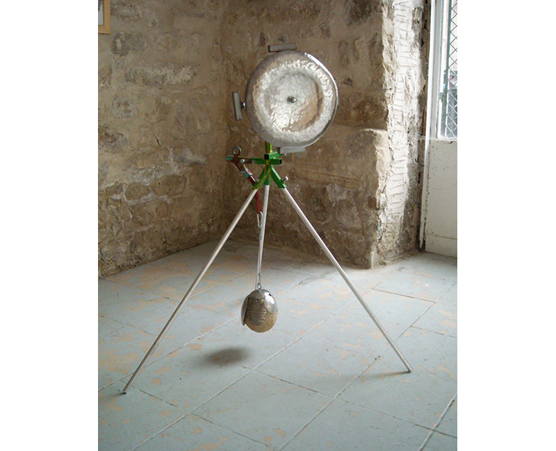 Sculpture sonore moulin 2012